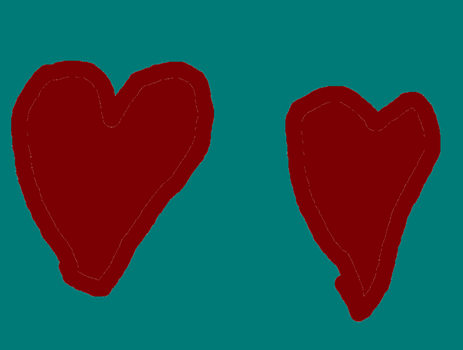 The hearts of creativity by sonicsonicboom