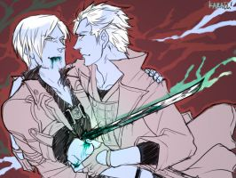 DMC - some sort of twisted by karaii