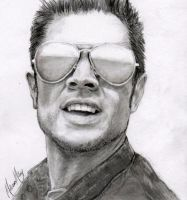 Johnny Knoxville by MelissaLeeAnne