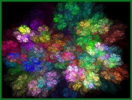 Fractal Flowers by Zaleeu
