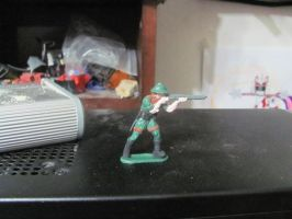 ZTS painted toy Soldier by ZeldaTheSwordsman