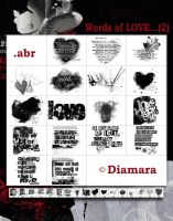 Words of Love2 by Diamara