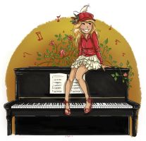 Piano by Adlynh
