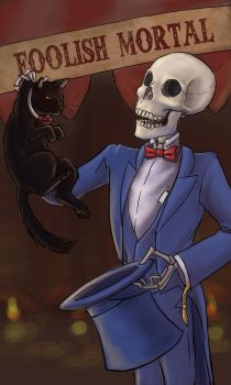 Business Card - Magician by lissa-quon