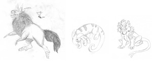 $1 Sketches for Cattickelf by Windicious