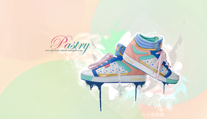pastry kicks by adhdgraphics