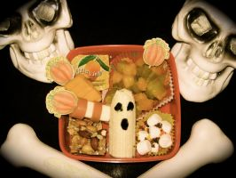 Halloween Bento 2 by LaFoi