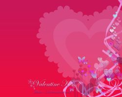 Valentine Kiss WP by LorrieWhittington