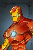 Ironman Colored by as3k