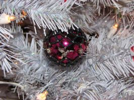 Kim's Hand Beaded Ornaments 4 by DragonKissses