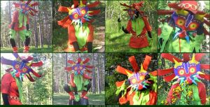 Skull Kid Photos Collage by Viveeh