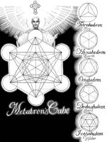 Metatron's Cube by Stephen-Bower