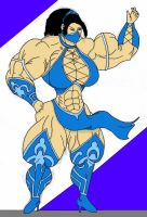 Muscle Kitana By Shamefulmaximum by mud666