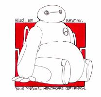 Hello I am Baymax by Handyheart