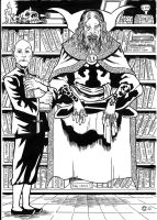 Alan Moore, Supreme Sorcerer by caiooliveira