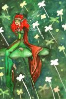 The Green Faerie by sanoshinna