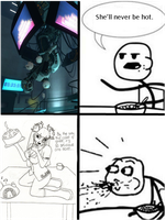 Cereal Guy- GLaDOS by trans2rotf