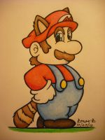 Mario from the NES by TheGreenDragonGirl