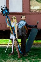 Hextech Janna and Rugged Garen 01 by kelvin-oh89