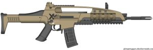 Call Of Duty - Black Ops 2 M8A1 Rifle (v 2.0) by Scarlighter