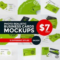Business Card Mock-up by thearslan