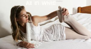 All in White.....Nastya by Real-Neil