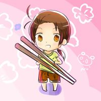 Big Chopsticks by usagi-coco