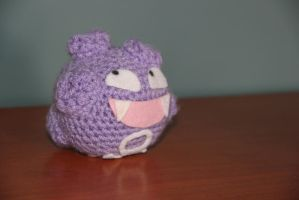 #109 Koffing by pokecrochetchallenge