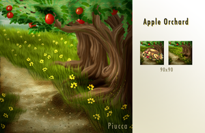 Apple Orchards by Piucca