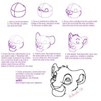 How to draw a lions head by Aikachi02