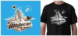 Whitecaps 2011 Star Wars nite by theCrow65
