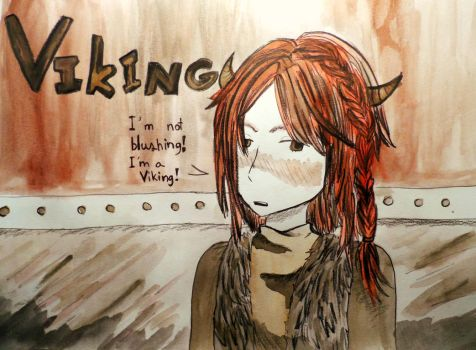 I'm a Viking! by love-TheBeatles