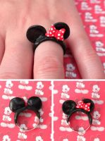 Minnie Mouse Ears by queenrocks324