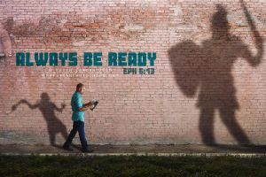 Always be ready by kevron2001