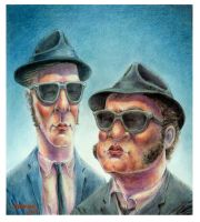 The Blues Brothers by rdeckard