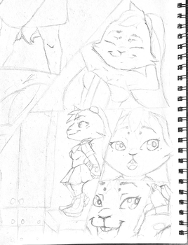 judy hopps scene preview working on it  by Legend-Cooper