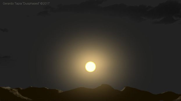 The Sun and the Black Sky by Duophased