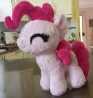 MLP: Pinkie Pie Filly Plushie by ChibiTigre