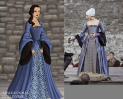 Anne's Execution Gown by msbrit90