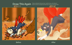 Draw This again meme by Tanglecolors