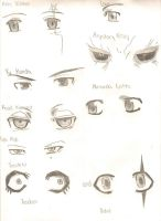 D. Gray-Man eyes by RUNNINGWITHSCISSORS1