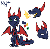 Charsheet - Night by Inklash
