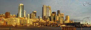 Seattle Waterfront by SilentMobster42