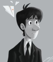 George from Paperman by BoukenRed
