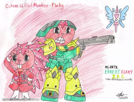 Cuteness Girl Member - Flaky by murumokirby360