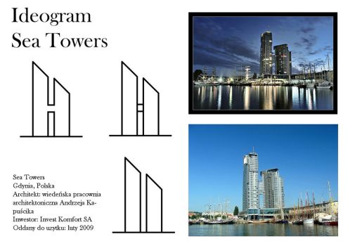 Sea Towers ideogram by Adlerrr