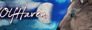 Wolf haven banner by Urengeal