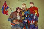 The Incredulity of Captain America by Jaaaiiro