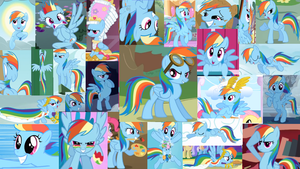 Rainbow Dash Wallpaper by Salohcin-Silverwing