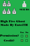 High Five Ghost Sprites by EnteiTheHedgehog